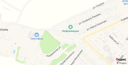 Улица Березовая Роща в Кондрово с номерами домов на карте. Спутник и схема онлайн