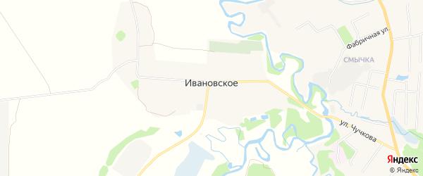 Карта Ивановского села в Московской области с улицами и номерами домов