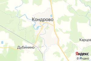 Карта г. Кондрово Калужская область