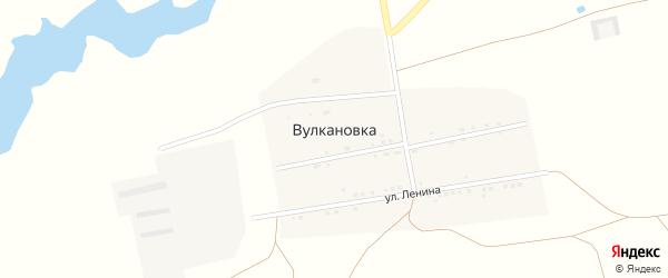 Школьная улица на карте села Вулкановки Крыма с номерами домов