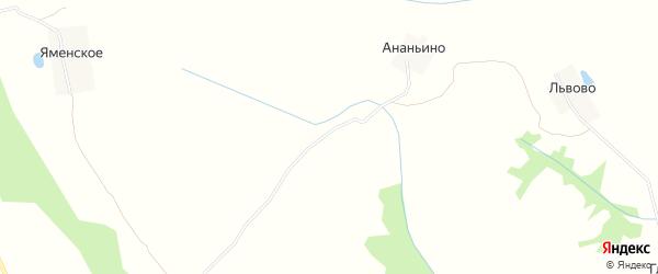 Территория автодорога Тверь-Бежецк на карте Калининского района Тверской области с номерами домов