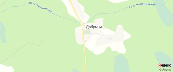 Карта деревни Никольского Луга в Тверской области с улицами и номерами домов