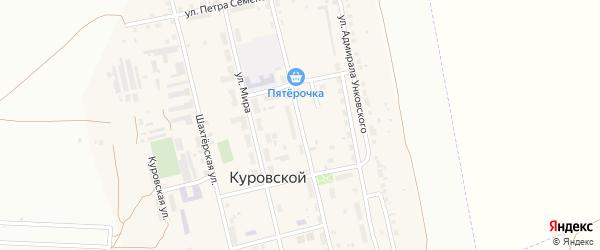 Строительная улица на карте Калуги с номерами домов