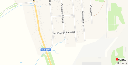 Улица С.Есенина в Можайске с номерами домов на карте. Спутник и схема онлайн