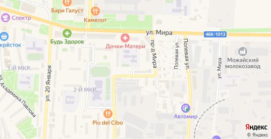 Заводской тупик в Можайске с номерами домов на карте. Спутник и схема онлайн