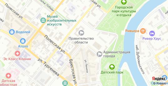 Улица Воронова в Орле с номерами домов на карте. Спутник и схема онлайн