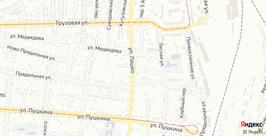 Улица Ляшко в Орле с номерами домов на карте. Спутник и схема онлайн