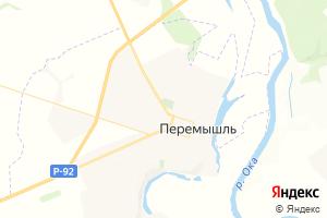Карта с. Перемышль Калужская область