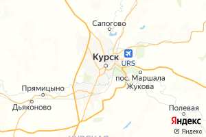 Карта г. Курск Курская область