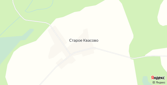 Карта деревни Старое Квасово в Вологодской области с улицами, домами и почтовыми отделениями со спутника онлайн