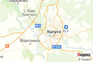 Карта г. Калуга Калужская область