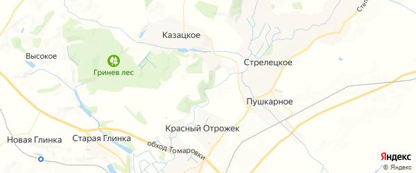 Карта Строителя с районами, улицами и номерами домов
