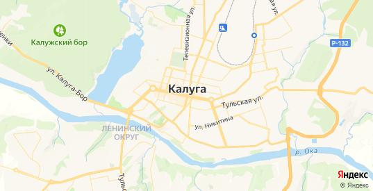 Карта Калуги с улицами и домами подробная. Показать со спутника номера домов онлайн