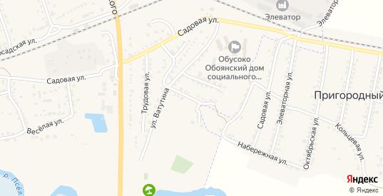 Парковый переулок в Обояни с номерами домов на карте. Спутник и схема онлайн