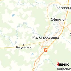 Участок для садоводства и огородничества в деревне Дубровка Калужской области  на карте