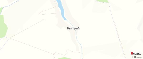 Карта Быстрого хутора в Белгородской области с улицами и номерами домов