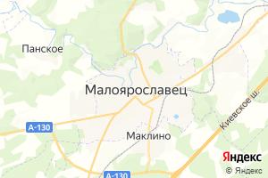 Карта г. Малоярославец Калужская область