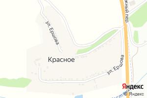Карта с. Красное Белгородская область
