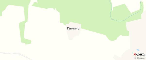 Карта деревни Пятчино в Тверской области с улицами и номерами домов
