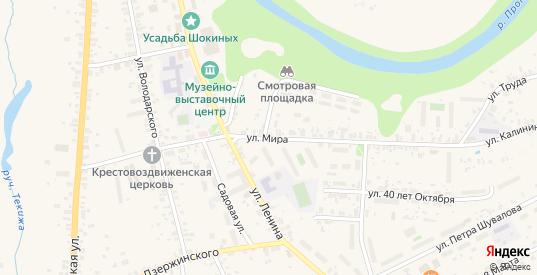 Улица Мира в Боровске с номерами домов на карте. Спутник и схема онлайн