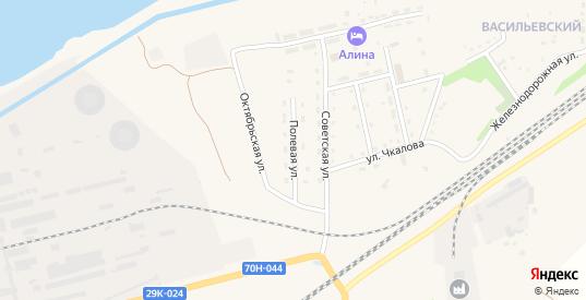 Полевая улица в Суворове с номерами домов на карте. Спутник и схема онлайн
