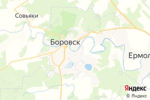 Карта г. Боровск Калужская область
