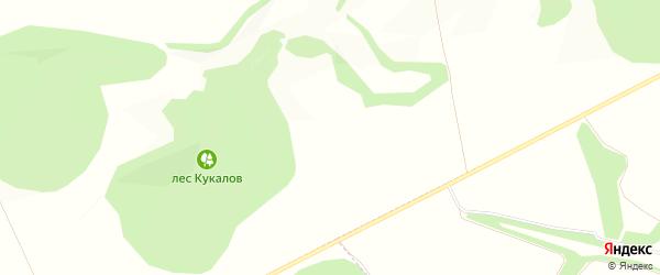 Карта села Вергелевки в Белгородской области с улицами и номерами домов