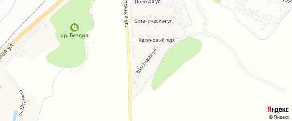 Яблоневая улица на карте Майского поселка с номерами домов