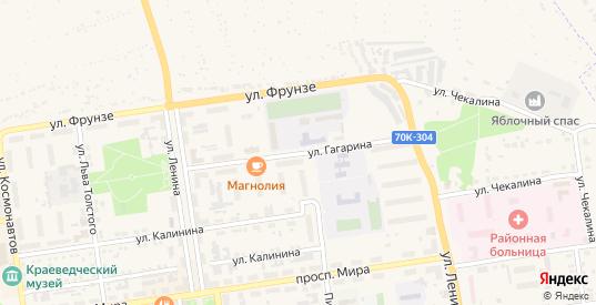 Улица Гагарина в Суворове с номерами домов на карте. Спутник и схема онлайн