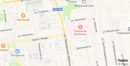Площадь Сиротенко в Суворове с номерами домов на карте. Спутник и схема онлайн