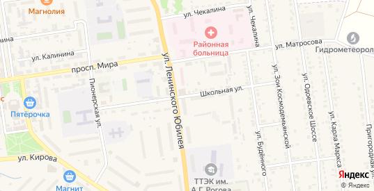Школьная улица в Суворове с номерами домов на карте. Спутник и схема онлайн