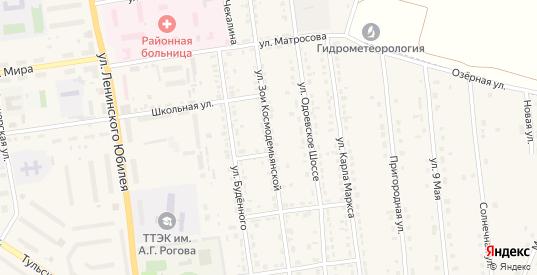 Улица Зои Космодемьянской в Суворове с номерами домов на карте. Спутник и схема онлайн
