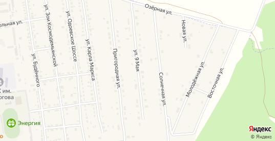 9 Мая улица в Суворове с номерами домов на карте. Спутник и схема онлайн