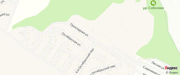Прохладная улица на карте Стрелецкого села с номерами домов
