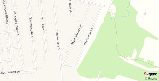 2-й Солнечный проезд в Суворове с номерами домов на карте. Спутник и схема онлайн