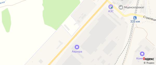 Улица Автомагистраль на карте Мценска с номерами домов