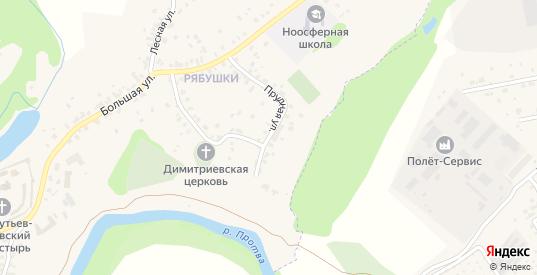 Прудная улица в Боровске с номерами домов на карте. Спутник и схема онлайн