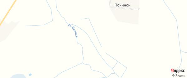 Карта территории СНТ Электросетей и медучреждений в Тверской области с улицами и номерами домов