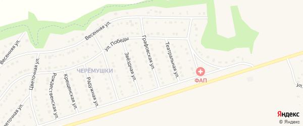 Графовская улица на карте Никольского села Белгородской области с номерами домов
