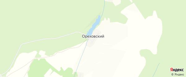 Карта Ореховского поселка в Тульской области с улицами и номерами домов
