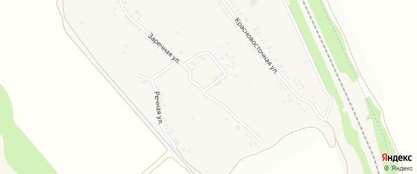 Абрикосовая улица на карте хутора Красного Востока с номерами домов