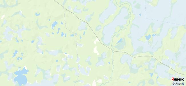 Унежма на карте