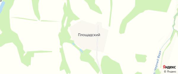 Карта Площадского поселка в Тульской области с улицами и номерами домов