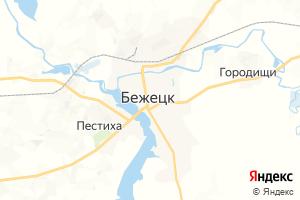Карта г. Бежецк Тверская область
