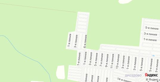 СТ Факел на карте Калуги с номерами домов