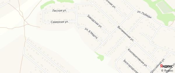 Народная улица на карте села Ближней Игуменки с номерами домов