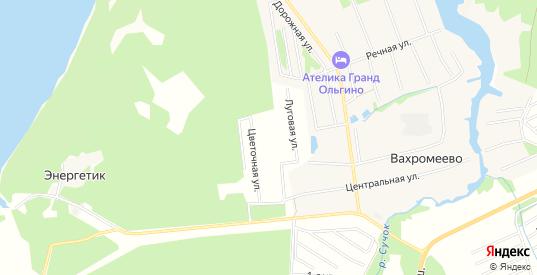 Карта садового некоммерческого товарищества Дорожник в Конаково с улицами, домами и почтовыми отделениями со спутника онлайн