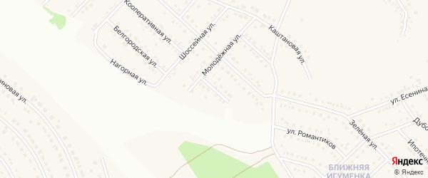 Загородняя улица на карте села Ближней Игуменки с номерами домов