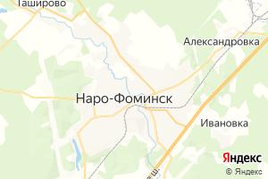 Карта г. Наро-Фоминск Московская область
