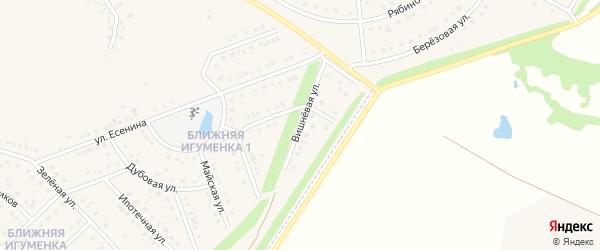 Вишневая улица на карте села Ближней Игуменки с номерами домов